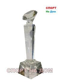 """Кубок стекло """"Бриллиант"""" 1 место"""