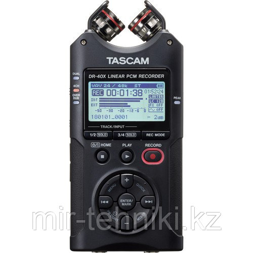 Рекордер Tascam DR-40X - фото 1