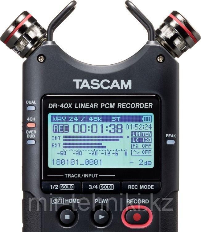 Рекордер Tascam DR-40X - фото 2