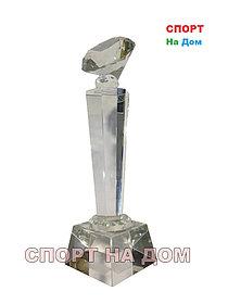 """Кубок стекло """"Бриллиант"""" 2 место"""