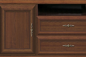 Тумба под ТВ 1Д 2Я, коллекции Кентаки, Каштан, БРВ Брест (Беларусь), фото 2