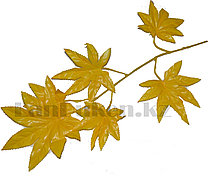 Искусственная ветка дерева желтая длина 55-60 см