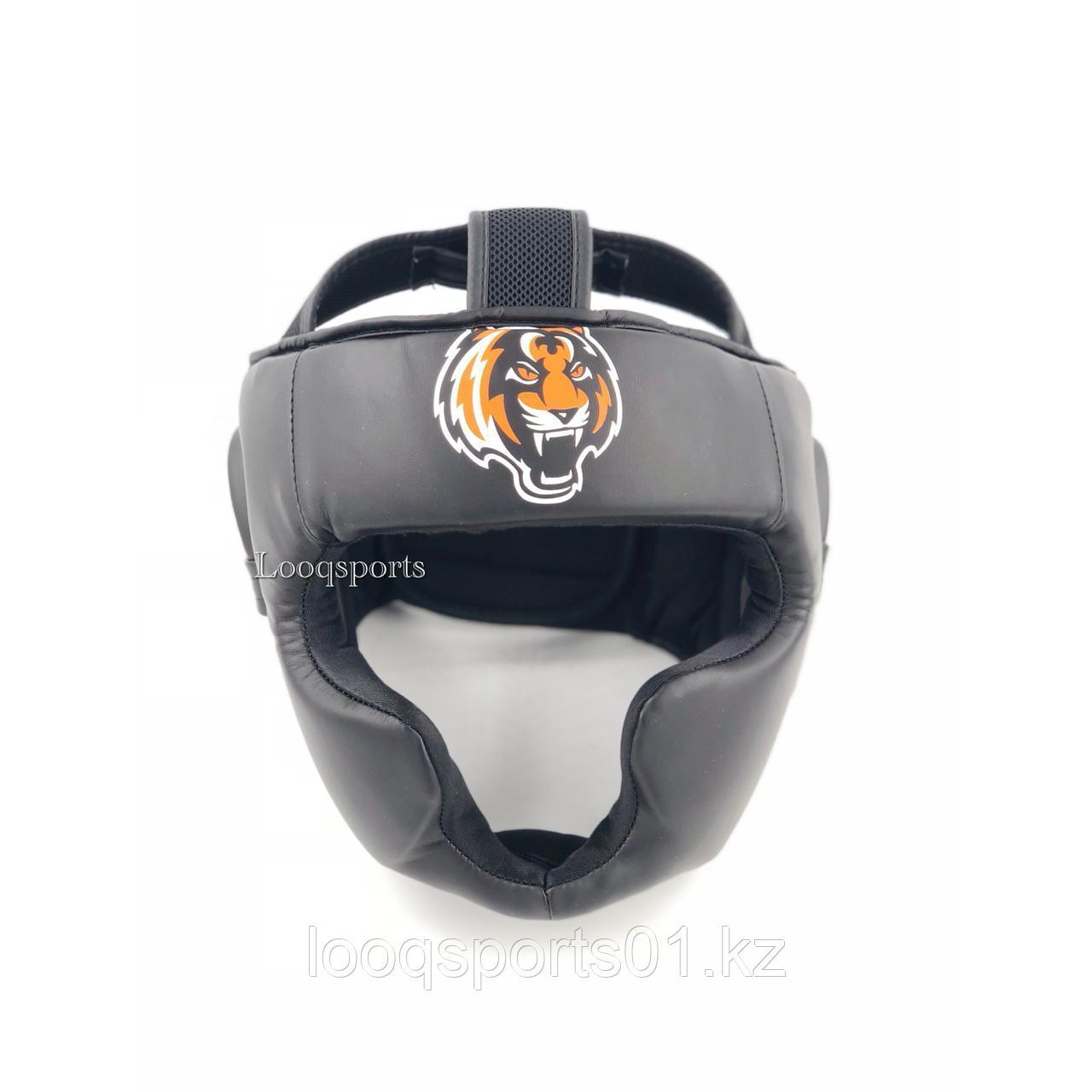 Закрытый боксерский шлем TIGER для единоборств