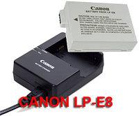 Canon Lc-e8 зарядка для Lp-e8 батареи