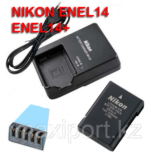 Nikon mh24 зарядка для батареи En-el14