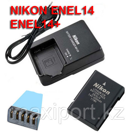 Nikon mh24 зарядка для батареи En-el14, фото 2