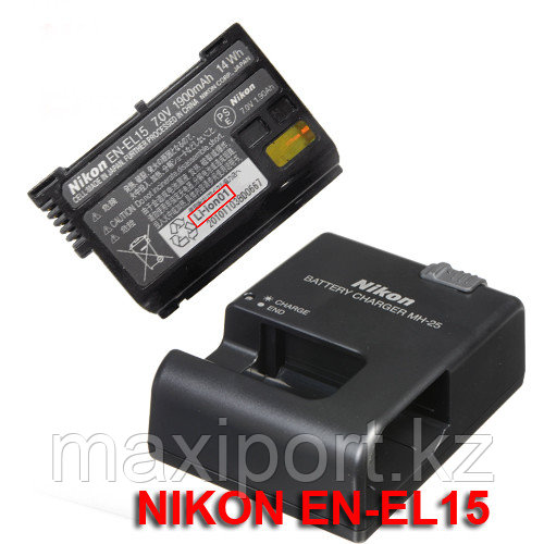 Nikon mh25 зарядка для батареи En-el15