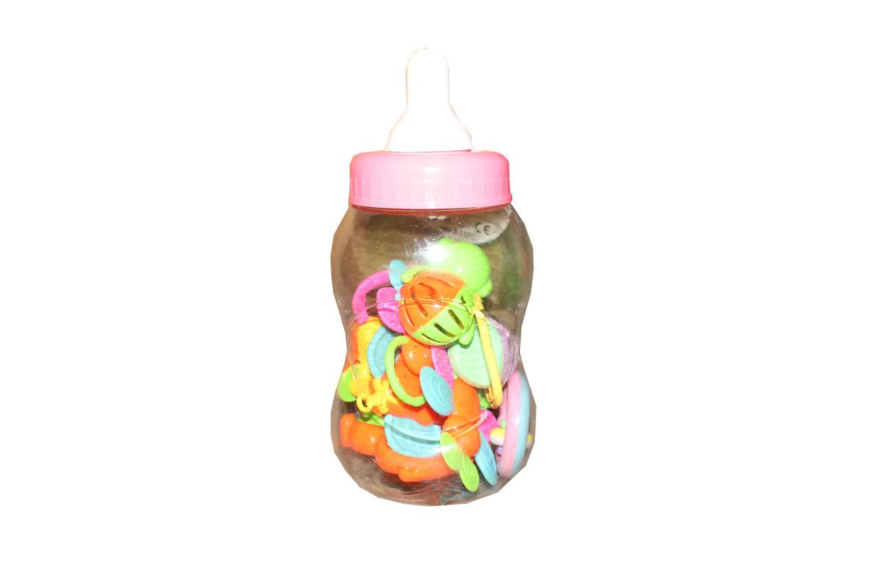 Погремушка бутылочка 8123