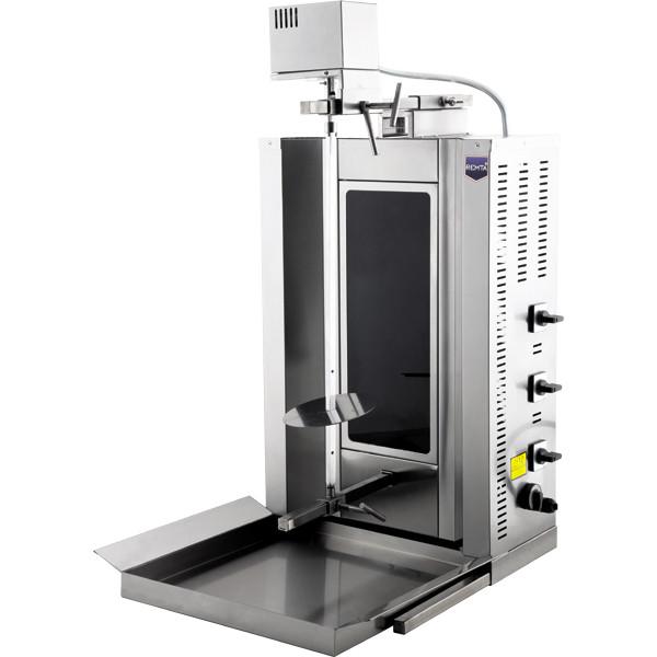 Донер аппарат электрический  с мотором стеклокерамика ( 3 теновый)