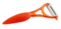 Овощечистка Mastrad для тонкой чистки овощей Elios, оранжевая F20442