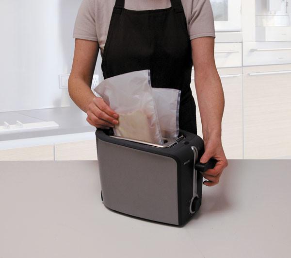 Пакеты для гриля и тостера 2 шт. 24,5x17,5 см Ibili Испания 778900