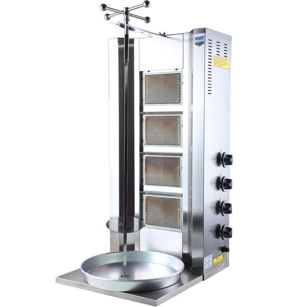 Аппарат для донера (шаурма) (4 горелка)