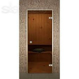 Стеклянная дверь для хамам, фото 3