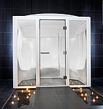 Стеклянная дверь для хамам, фото 4