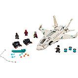 Конструктор  bela 11315 Реактивный самолёт Старка и атака дрона Аналог Lego: 76130, фото 2