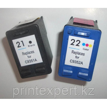 Картридж HP C9351AE Black Inkjet Print Cartridge № 21, фото 2