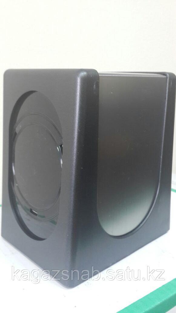 Диспенсер для салфеток настольный (0680 черный серебро) - фото 1