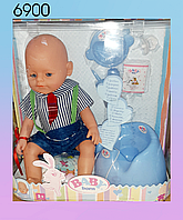 Интерактивная кукла пупс Baby Born средний, фото 1