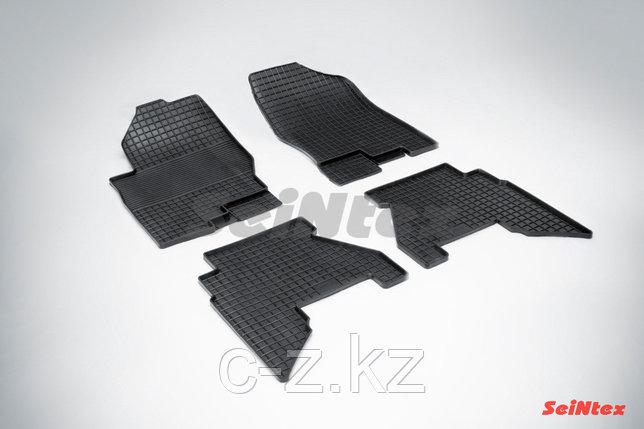 Резиновые коврики для Nissan Pathfinder III 2004-н.в., фото 2