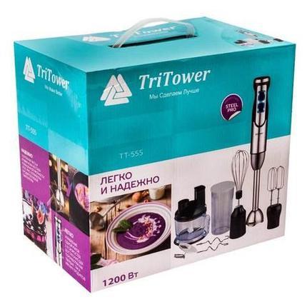Кухонный процессор-блендер многофункциональный TriTower TT-555 [1200 Вт], фото 2