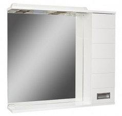 Шкаф-зеркало Cube 75 Эл. правый  (с подсветкой)