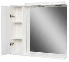 Шкаф-зеркало Cube 75 Эл. левый  (с подсветкой), фото 2