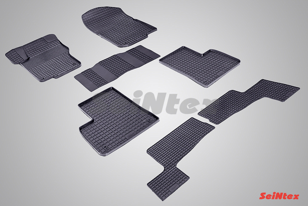 Резиновые коврики для Mercedes-Benz GL-Class X166 2012-н.в.