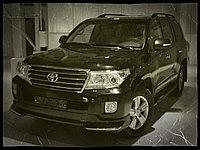"Комплект обвеса ""Urban Sport"" (пластик) для Toyota Land Cruiser 200"