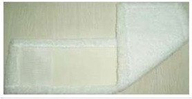 МОП из микрофибры 50см, белый с карманом