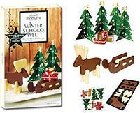 Рождественский шоколадный набор пазлы Mount Momami Winter Choco Welt (Германия) 90 гр