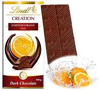 Шоколад Lindt Creation темный с апельсином 100гр
