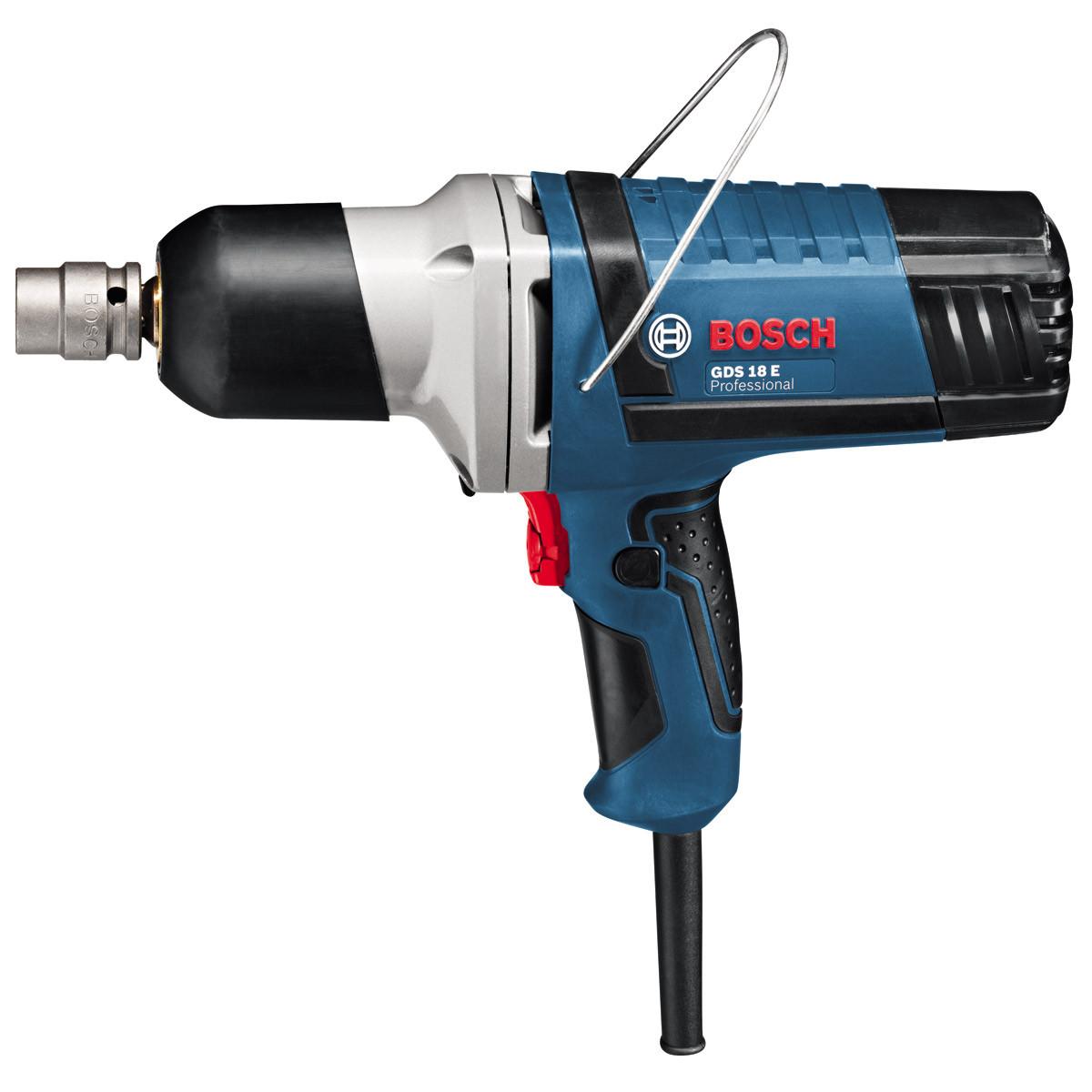 Ударный гайковерт, электрический, Bosch GDS 18 E, Professional, 0601444000