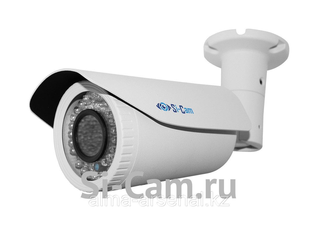 Цилиндрическая уличная AHD видеокамера с варифокальным объективом SC-HS201VAF IR автофокус!!!