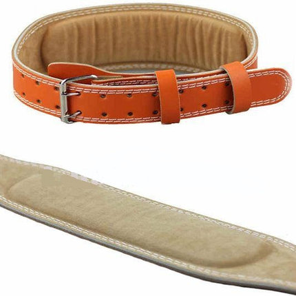 Атлетический пояс штангиста, пояс для тяжелой атлетики 120 см, Размер M, фото 2