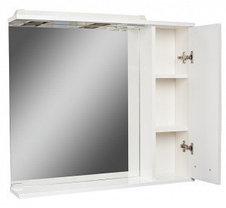 Шкаф-зеркало Cube 80 Эл. правый  (с подсветкой), фото 2