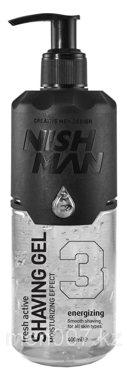 Nishman Shaving Gel (Гель для бритья) 400 мл.