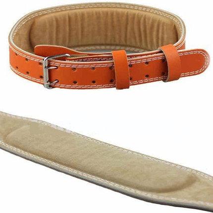 Атлетический пояс штангиста, пояс для тяжелой атлетики 130 см, Размер XL, фото 2