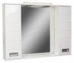 Шкаф-зеркало Cube 90 Эл.   (с подсветкой)
