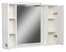 Шкаф-зеркало Cube 90 Эл.   (с подсветкой), фото 2