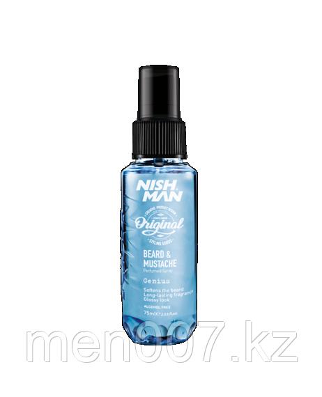 Nishman Beard Parfum (Парфюм спрей для бороды и волос) 75 мл.