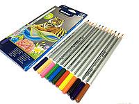 Набор цветных карандашей Braden BD-8012 (12 цветов)