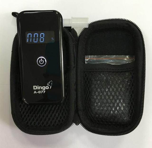 Персональный алкотестер Динго А-077 в кейсе