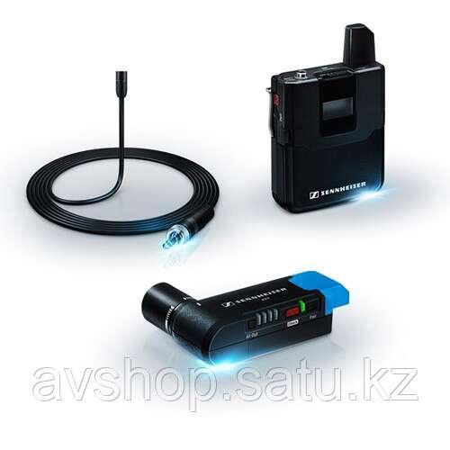 Sennheiser AVX-MKE2 SET радиосистема с мини-петличкой и компактным накамерным приёмником