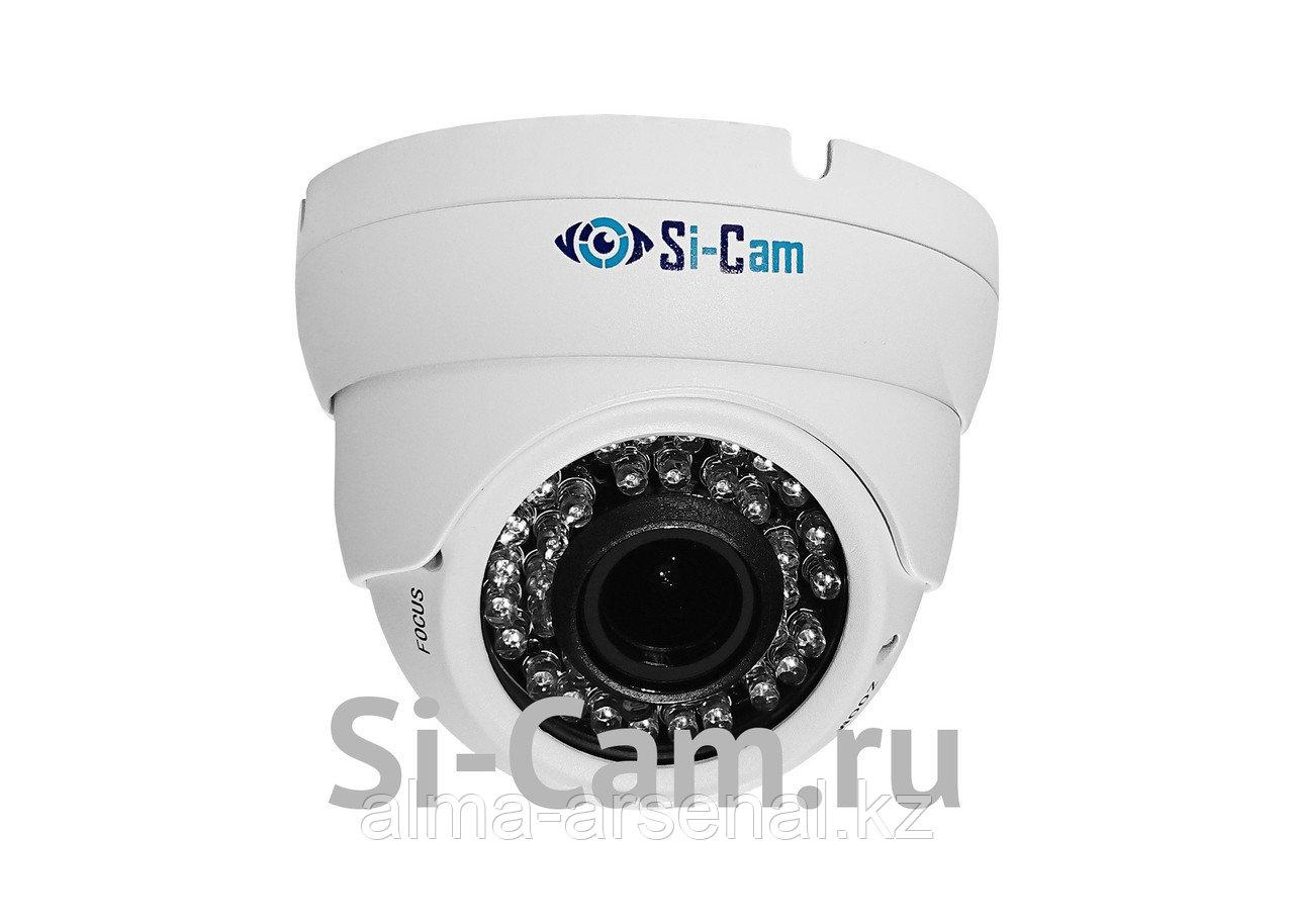 Купольная уличная антивандальная AHD видеокамера SC-HS502V IR