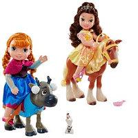 Disney Princess Принцесса с животным из мульфильма, в ассортименте.