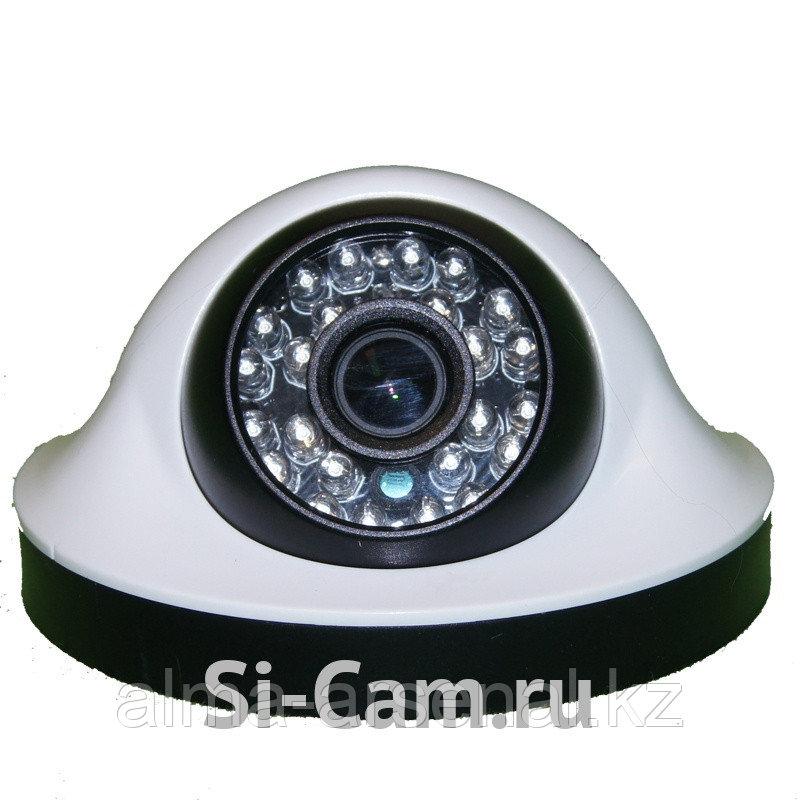 Купольная внутренняя AHD видеокамера SC-HSW203F IR