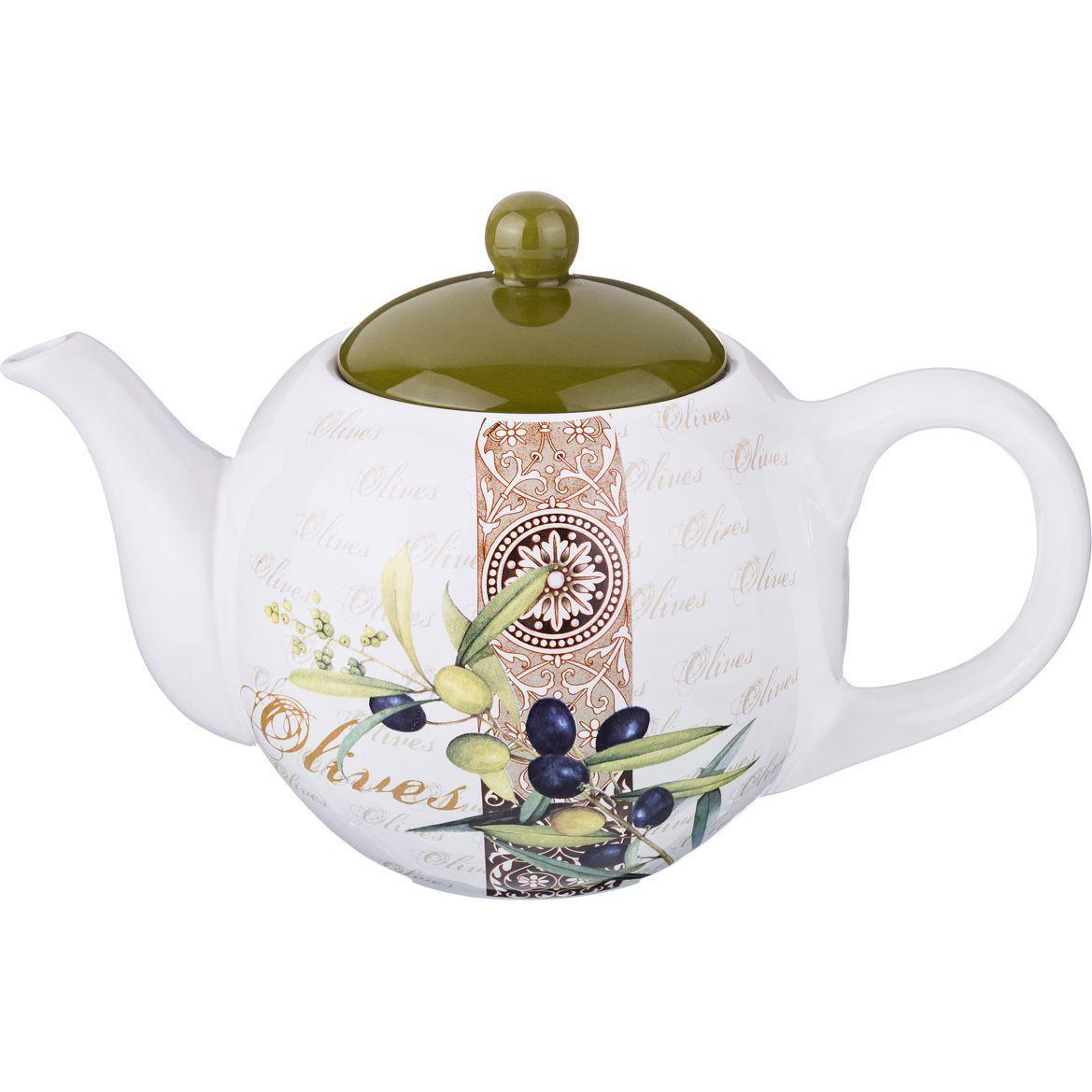 Чайник заварочный Agness «Оливки» (900 мл)