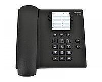 Gigaset DA100 Black, Стационарный аналоговый телефон, без дисплея, цвет черный