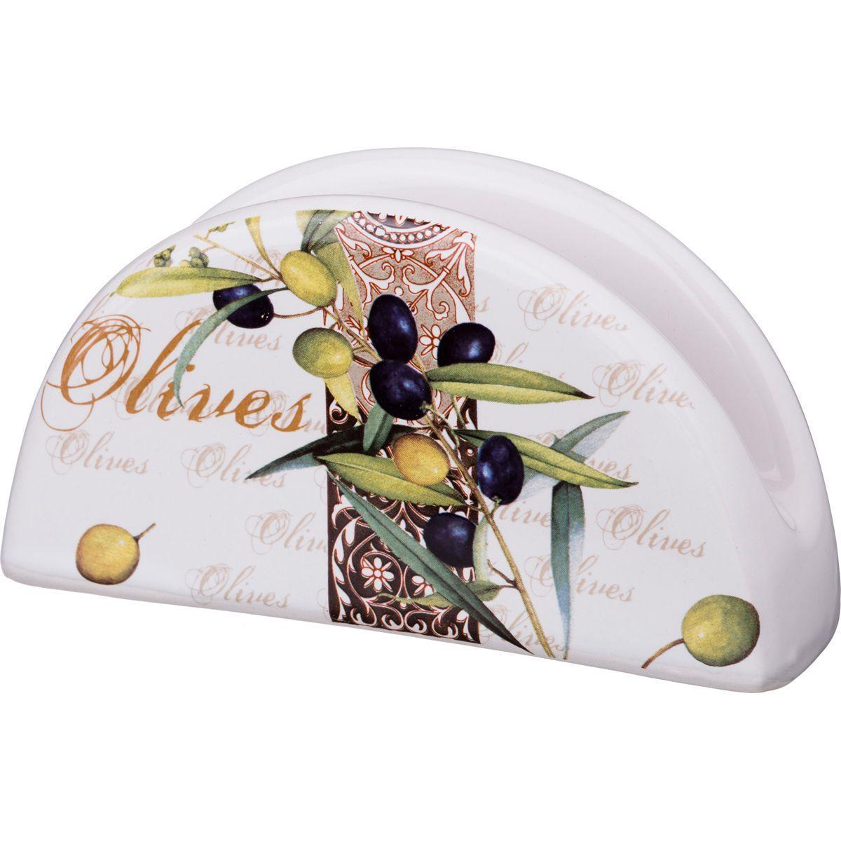 Салфетница Agness «Оливки» (13,5 см)