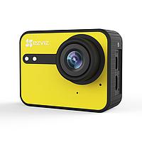 Экшн-камера Ezviz S1C (CS-SP206-A0-54WFBS), цвет желтый, фото 1